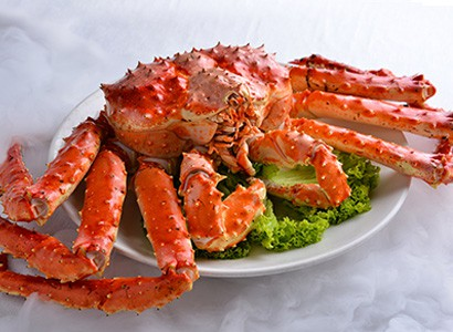 Classic White Pepper Live Alaskan King Crab